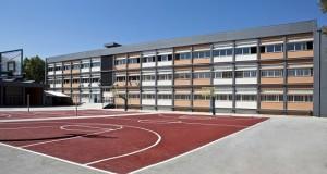 14ο Γυμνάσιο μετά την ανακαίνιση
