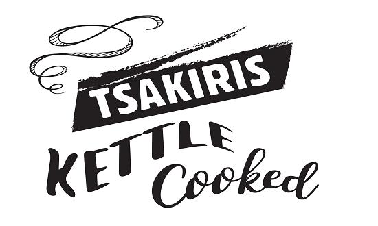 Logo Tsakiris kettle cooked